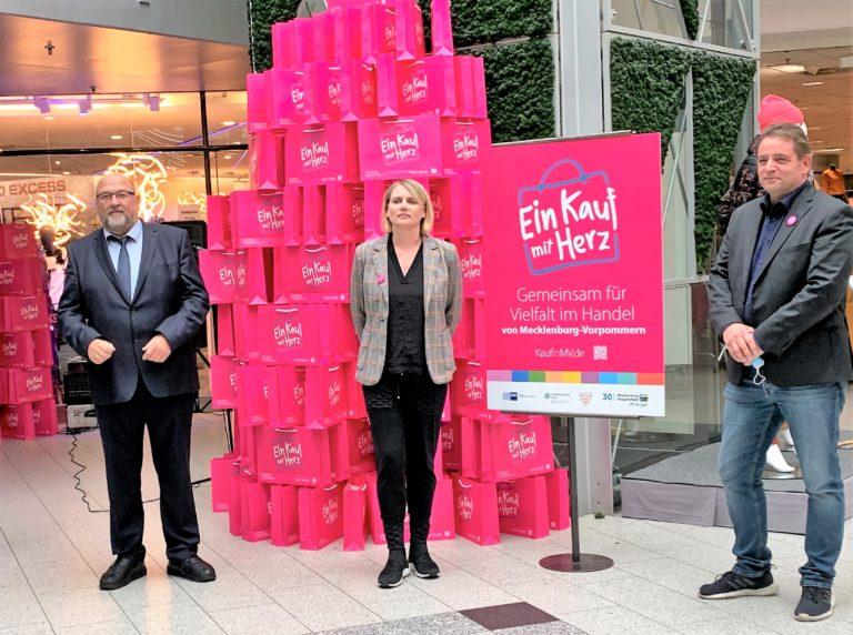 Startschuss Kampagne Einkauf mit Herz
